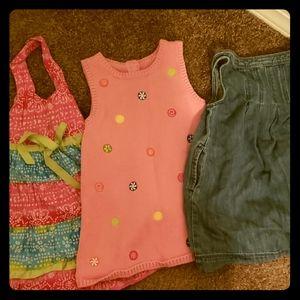 3 dresses Size 3T